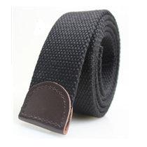 超值热卖 时尚骷髅头加厚帆布腰带 男士腰带军款皮带 工装裤腰带(黑色)
