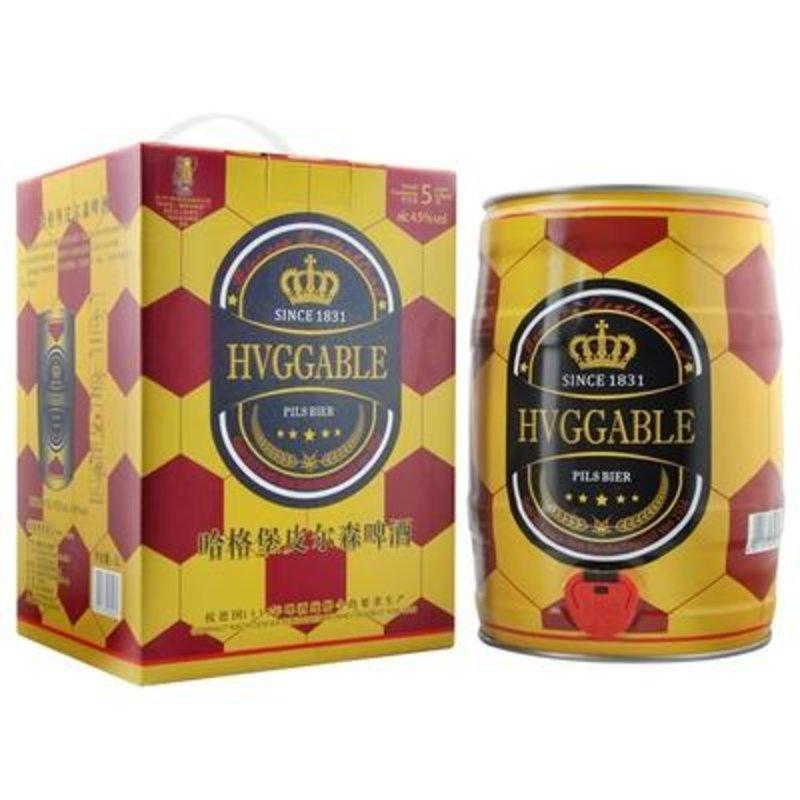 哈格堡皮尔森啤酒(黄啤) 5l装