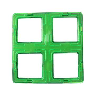 亲子动脑创造四方形三角形梯形圆形战车摩天轮长方型梯形(四倍正方形)