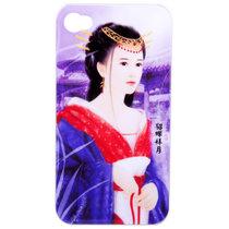 奥迪嘉(odja)iPhone4 iJ-H4手机保护壳(貂禅拜月)