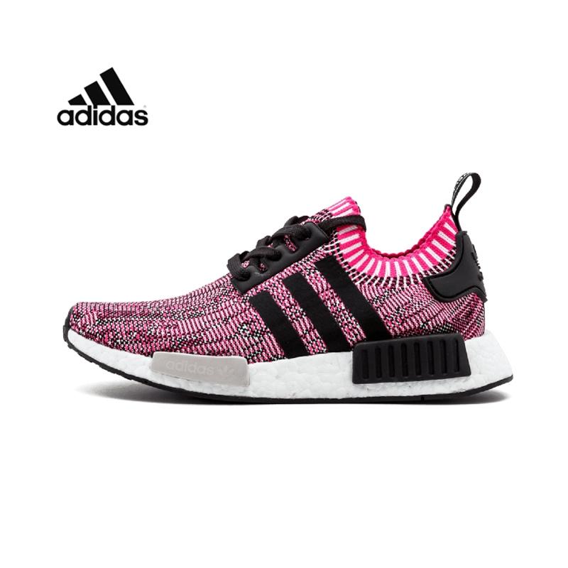 Adidas阿迪达斯情侣鞋 男鞋女鞋三叶草 NMD R1 BOOST男女 运动休
