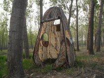 嘀威尼 Diweini大人宝宝洗澡帐篷更衣厕所钓鱼观鸟迷彩帐篷(1.2*1.9普通迷彩三窗)