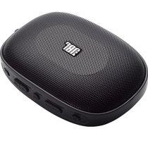 JBL SD-12 BLK无线蓝牙插卡音箱 便携迷你口袋音箱 兼容苹果/三星手机/电脑小音响 播放器 FM收音机(黑色)
