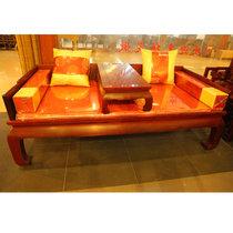 红木家具红木罗汉床?#30340;?#32599;汉床中式仿古雕花小叶红檀