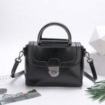 Svale诗薇儿女士减龄单肩包手提包斜挎包甜美糖果色 01-GM80650(黑色)