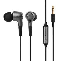 Edifier/漫步者 H230P手机耳机入耳式通用重低音炮有线控耳塞带麦(黑色)