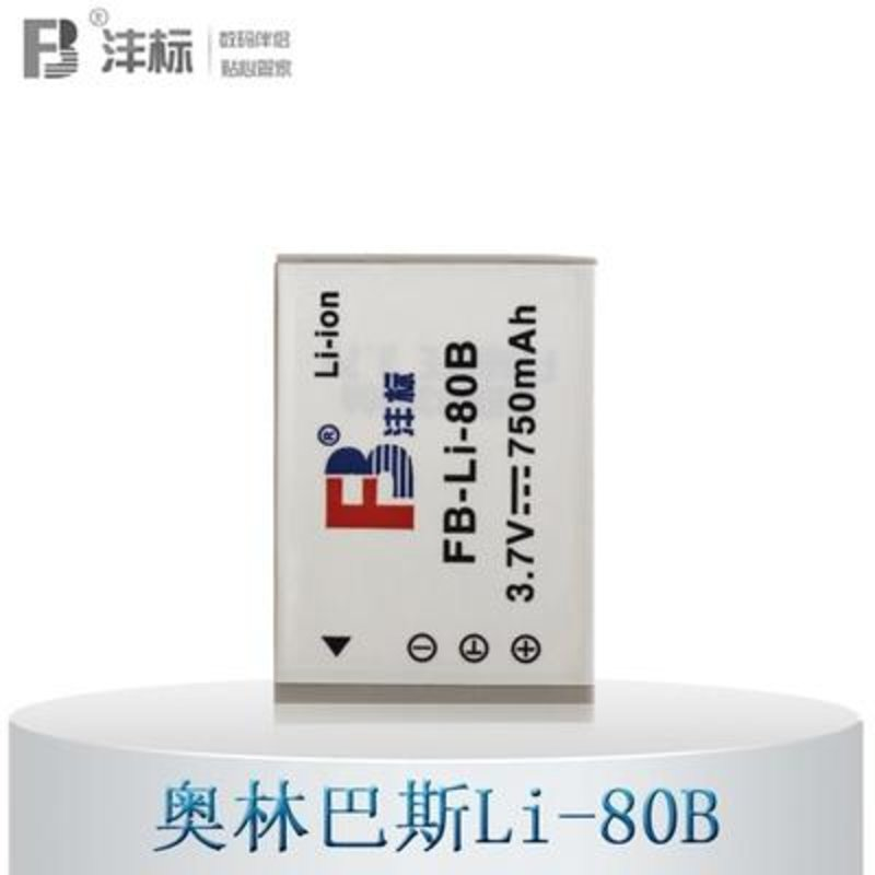 沣标li-80b电池/充电器