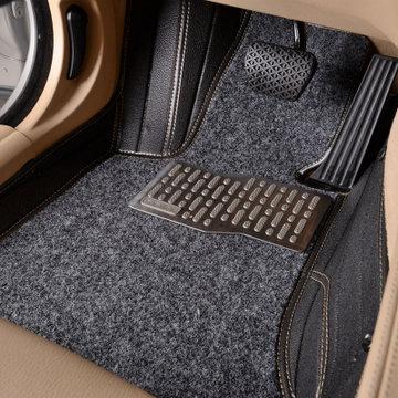 耀迪 汽车用品 专车专用脚垫 半地毯丝全包围脚垫 汽车脚垫 车内装饰