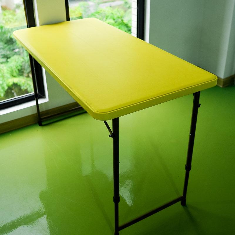路华手提式携带折叠长桌子 便携户外休闲餐桌椅 可桌图片