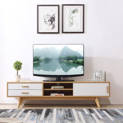 A家家具 电视柜 北欧简约板木电视机柜 原木色 ADC-77(电视柜 默认)