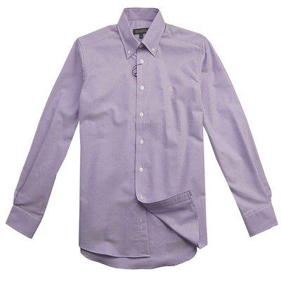 圣大保罗专柜*男装 纯棉净色春夏长袖衬衫 男衬衣ps11