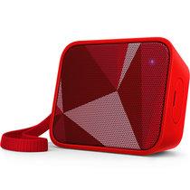 Philips/飛利浦 BT110無線藍牙音箱便攜迷你手機小音響電腦低音炮(紅色)