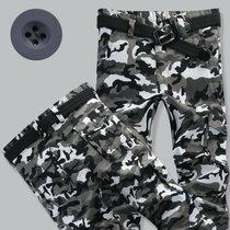 花花公子贵宾 军装3D多袋裤工装裤迷彩裤男长裤潮宽松休闲军裤男户外裤子T950(T950)