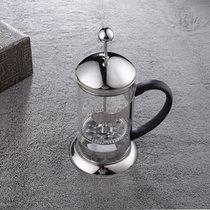 思柏飞法压壶美式不锈钢冲茶器套装 法式咖啡壶 咖啡滤压壶滤杯 600ml 耐热玻璃 800ml(800ML)
