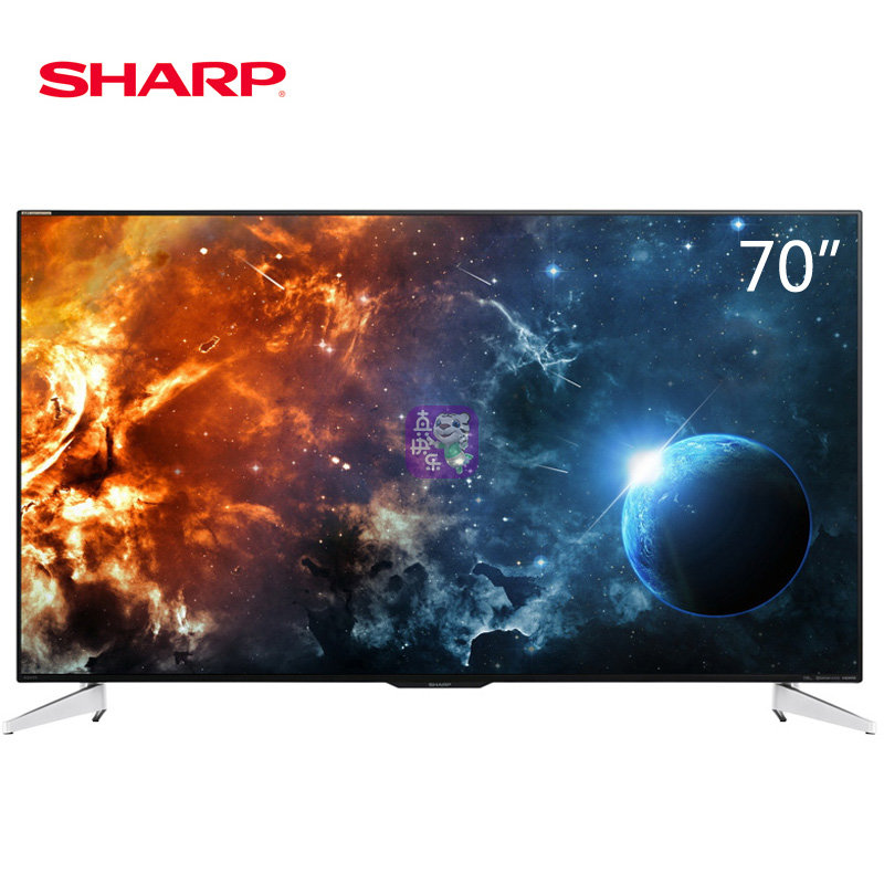 夏普(SHARP)彩电 LCD-70SU661A LCD-70SU860A 70英寸 4K超高清 智能网络电视