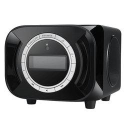 耳神ER830F带音乐闹铃/FM/支持iPhone等一体苹果电脑音箱(黑色)