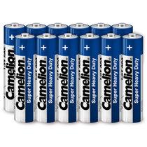 飞狮(Camelion)碳性电池 干电池 R03P/AAA/7号 电池 12节 低耗玩具/遥控器/收音机/闹钟/手电筒