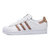 adidas Originals阿迪三叶草2018女子SUPERSTAR WFOUNDATION休闲鞋CQ2514(38.5)(如图)