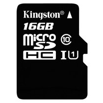 金士顿(Kingston)TF卡(Micro SD)Class10 UHS-I高速存储卡(16G)