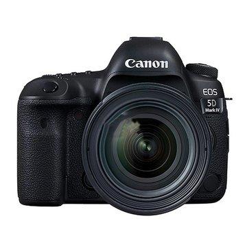 佳能(Canon)EOS 5D Mark IV(EF 24-70mm f/4L IS USM)单反套机5D4 5d4(黑(黑色 套餐一)