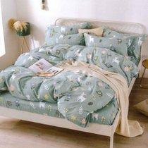 红瑞时尚印花四件套 梦游仙境-绿 1.5米床适用200*230cm 亲肤透气 舒适耐用
