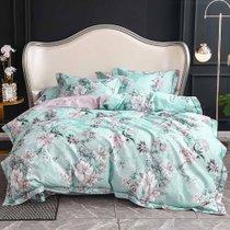 远梦四件套床上四件套提加印床单四件套馨思雅兰 提加印床单四件套 250cm×245cm(床单) 做工细腻 精美图案