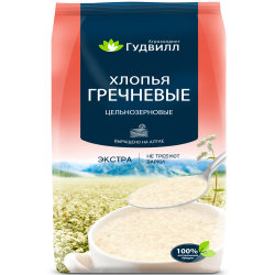 【国美自营超市】俄罗斯进口 谷德维尔荞麦片400g袋装