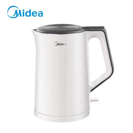 美的(Midea) 电热水壶 1.5L容量 双重防烫 家用烧水壶 MK-HJ1522