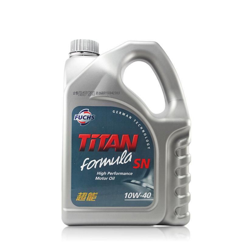 福斯泰坦超能合成机油10W-40 SN级4L商品大图