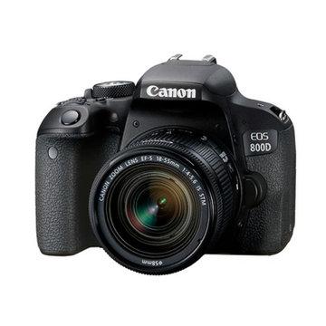 佳能(Canon)EOS 800D单反相机 套机IS STM版/单机身(18-135镜头 8.套餐八(18-55mm 套餐一)