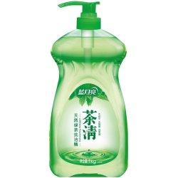 (国美自营)蓝月亮洗洁精茶清天然绿茶1KG/瓶