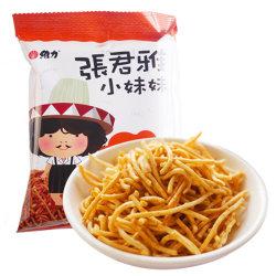 国美自营 台湾进口 张君雅墨西哥辣鸡点心面78g 零食