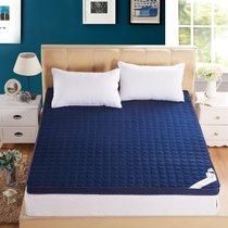 北极绒家纺 记忆棉床垫加厚可折叠学生上下铺0.9米单人床褥子寝室床垫子(加厚蓝色6.5cm 默认)