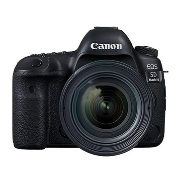 佳能(Canon)EOS 5D Mark IV(EF 24-70mm f/4L IS USM)单反套机5D4 5d4(黑(黑色 套餐二)