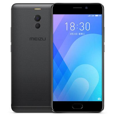 魅族手机魅蓝Note6(M721Q)曜石黑4GB+64GB全网通4G手机 双卡双待