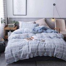 远梦二次元床单四件套亚麻套件日韩风棉麻被套250×245cm(四件套) 触感舒适 棉麻质感